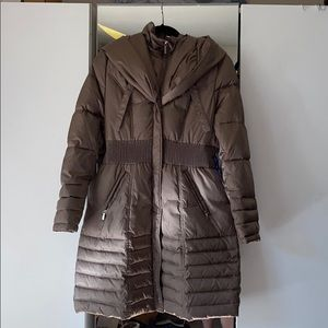 Down insulated parka